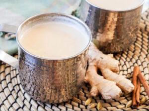 شیر و زنجبیل